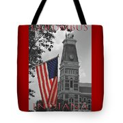 Courthouse In America Tote Bag