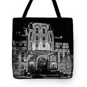 Courthouse In Kansas Tote Bag