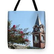 Courthouse In Spring Tote Bag