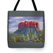 Courthouse Rock Tote Bag