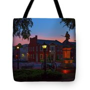 Courthouse Square Tote Bag