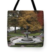 Courthouse Square In Rockville Maryland Tote Bag