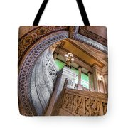 Courthouse Stairs Tote Bag
