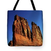 Courthouse Towers Tote Bag