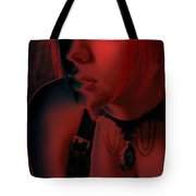 Courtney In Red Tote Bag