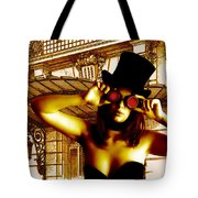 Courtney Waiting Tote Bag