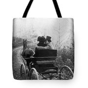 Courtship/carriage Ride Tote Bag