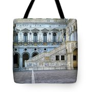 Courtyard At The Doge Palace Tote Bag