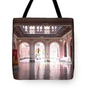 Courtyard Of The Central Post Office, Lima Peru Tote Bag