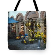 Courtyard Shop Tote Bag