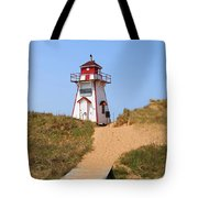 Covehead Harbour Lighthouse 5701 Tote Bag