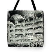 Covent Garden Theatre, 1795 Tote Bag