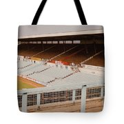Coventry City - Highfield Road - North Side Thackhall Street Stand 2 - September 1969 Tote Bag