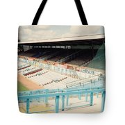 Coventry City - Highfield Road - North Side Thackhall Street Stand 3 - August 1991 Tote Bag