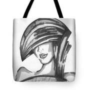 Cover Face Tote Bag