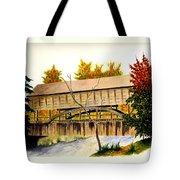 Covered Bridge - Mill Creek Park Tote Bag