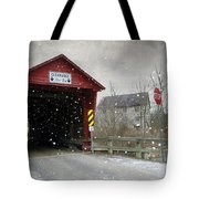 Covered Bridge In Logan Mills Tote Bag