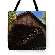 Covered Bridge In Woodstock Tote Bag