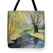 Covered Bridge Park Tote Bag