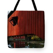 Covered Bridge Reflections Tote Bag