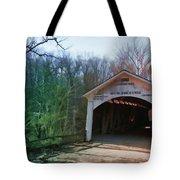 Covered Bridge Turkey Run Tote Bag