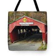 Covered Bridge Vermont Tote Bag