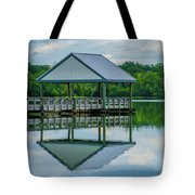 Covered Dock Tote Bag