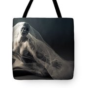 Covered Nude Tote Bag
