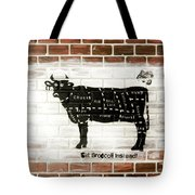 Cow Cuts Tote Bag