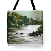 Cow Habitant Tote Bag
