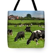 Cow Landscape Tote Bag by Amanda Elwell
