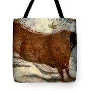 Cow: Lascaux, France Tote Bag