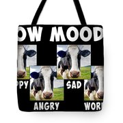 Cow Moods Tote Bag