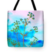 Cow Parsley Blossom 2 Tote Bag