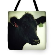Cow In Summer Tote Bag