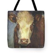 Cow Portrait II Tote Bag