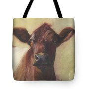 Cow Portrait IIi - Pregnant Pause Tote Bag