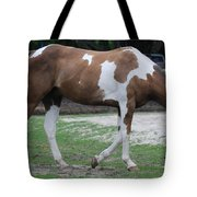 Cow Spotted Horse Tote Bag
