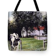 Cow Spotting Tote Bag