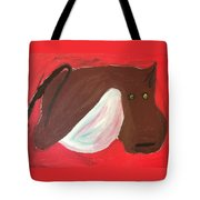 Cow With Udder Tote Bag