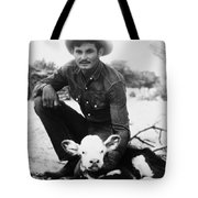 Cowboy, 20th Century Tote Bag
