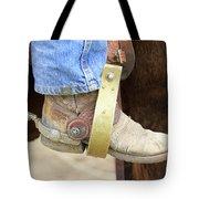 Cowboy Boot Tote Bag