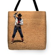 Cowboy Entertainer Tote Bag