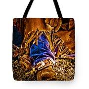 Cowboy Gold Tote Bag