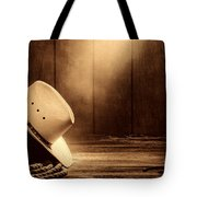Cowboy Hat In The Old Barn Tote Bag