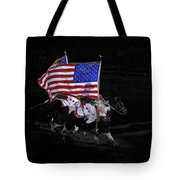 Cowboy Patriots Tote Bag