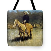 Cowboy Singing Tote Bag