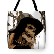 Cowboy Skeleton Tote Bag