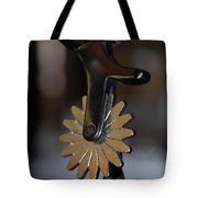 Cowboy Spurs Tote Bag