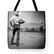 Cowboy Stance Tote Bag